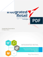 Integrated Retail Presentation March 2016
