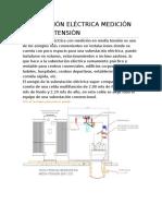 Subestación Eléctrica Medición en Media Tensión