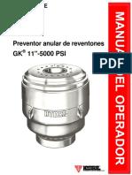 Manual 6609E Spanish