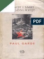 Paul Garde, Život i smrt Jugoslavije.pdf