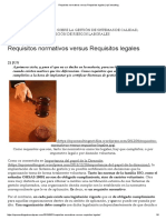 Requisitos Normativos Versus Requisitos Legales _ NpConsulting