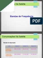 Bandas de Frequencia - Satelites