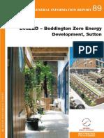 BedZED - Beddington Zero Energy Development Sutton