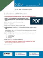 CivilCAD 2014 Installation Guide