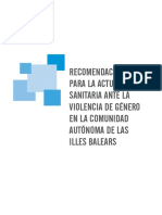 Violencia de Génereo Ibsalut
