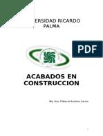 Acabados - Diseño de Interiores.doc