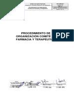 PR-FARM-001 Procedimiento de Comite de Farmacia y Terapeutica Ed. 2