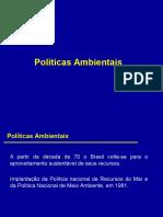 AIA -Políticas Ambientais