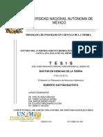 Tesis Estudio Del Comportamiento Hidrologico Del Lago Santa Ana-Mexico