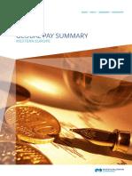 Global Pay Summary - WE