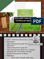 Teori Kepribadian Stimulus-Respon (Miller & Dollard)
