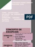 Las Excepciones