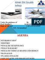 Technical Seminar on Stealth Aircraft Technology
