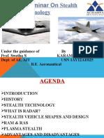 Technical Seminar on Stealth Aircraft Technology