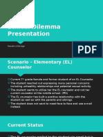 ethical dilemma presentation