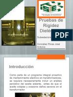 Pruebas de Rigidez Dieléctrica