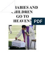Do Babies and Children Go to Heaven?