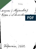 Alejandro Dumas - Kean o El Desorden