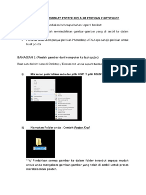 Tutorial Photoshop Poster Adobe Photoshop Software