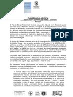 Resumen PMA Humedal Jaboque