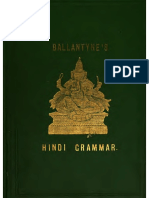Braj Bhasha Grammar