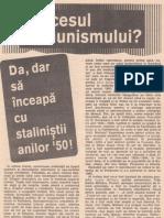 PROCESUL COMUNISMULUI