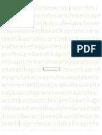 ETIKA PROFESI ARSITEKTUR