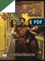 Master Class - The Noble's Handbook