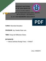 Ensayo Reflectores Solares , Vilavila Zambrano Rodrigo