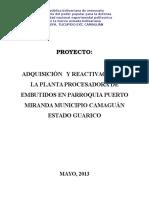 Proyecto Planta Embutidos Unefa !!!!