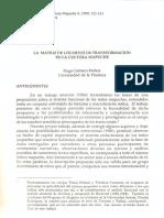Los mitos de la transformación en la Cultura Mapuche por Carrasco