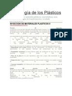 Tecnología de Los Plásticos Proceso de Inyeccion