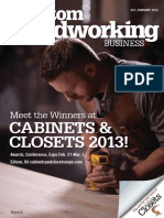 Custom Woodworking Business - February 2013