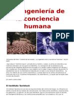 La Ingeniería de La Conciencia Humana