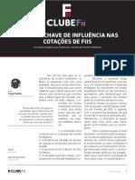 Fatores Chave de Influência Nas Cotacões de FIIs - Clube Fundos Investimento Imobiliário
