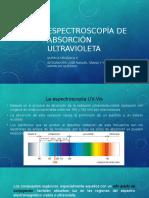 Espectroscopía de Absorción Ultravioleta