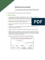 Estructura de Los Mercados
