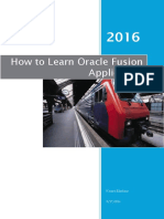 How to Learn Fusion Application Ar