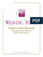 Guide to Inkle Weaving