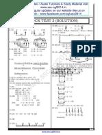 SSC CGL Model Paper 1 Solution
