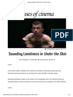 Under the Skin • Senses of Cinema