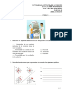 Parcial 2 - Electiva Metrología