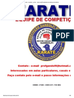 Golpes - Lutas - Associação Marinha Do Brasil de Karate