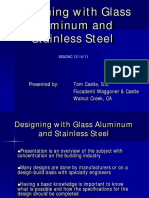 Glass Aluminum Stainless Steel 2011