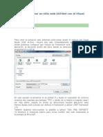 Pasos Para Crear Un Sitio Web ASP