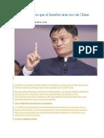 Los 22 Consejos Que El Hombre Más Rico de China Nos Da