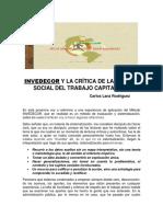 Invedecor y La Articulacion de Saberes (1)