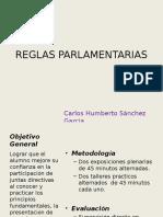 REGLAS PARLAMENTARIAmmmmS