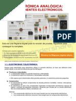 TESISI 1 Tema 2. Componentes Electrónicos