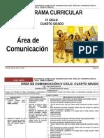 Área Comunicación Integral IV Ciclo_4º Rutas